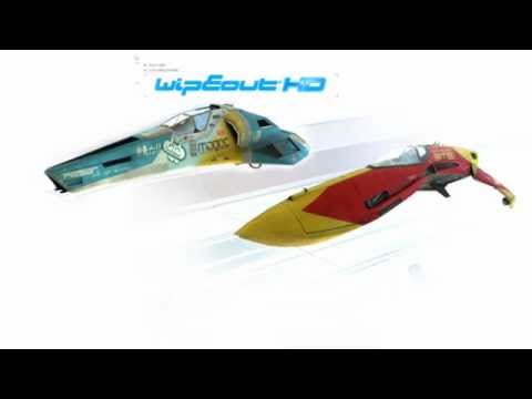 wipeout pure ワイプアウト ピュア PSP 2005 - pulse of life [way out west] VGM