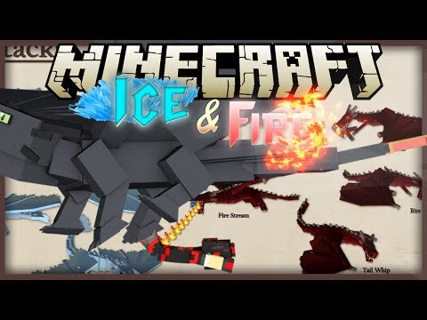 Minecraft: Mod Showcase - Ice And Fire [Part 1] [ ROCK THE DRAGON ]