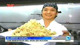 El arroz chaufa - Los maestros del wok en acción