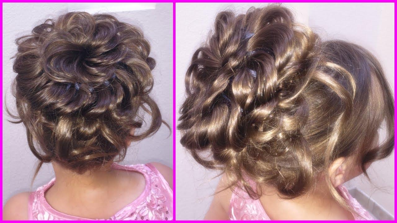 Peinado Elegante Y Facil De Hacer Elegant Hairstyle And Easy To Do Peinado Para Niña