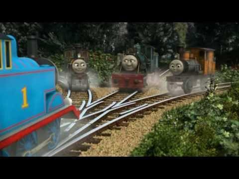 Misty Island Rescue - Thomas Meets Logging Locos Scene (With Alternate Music)