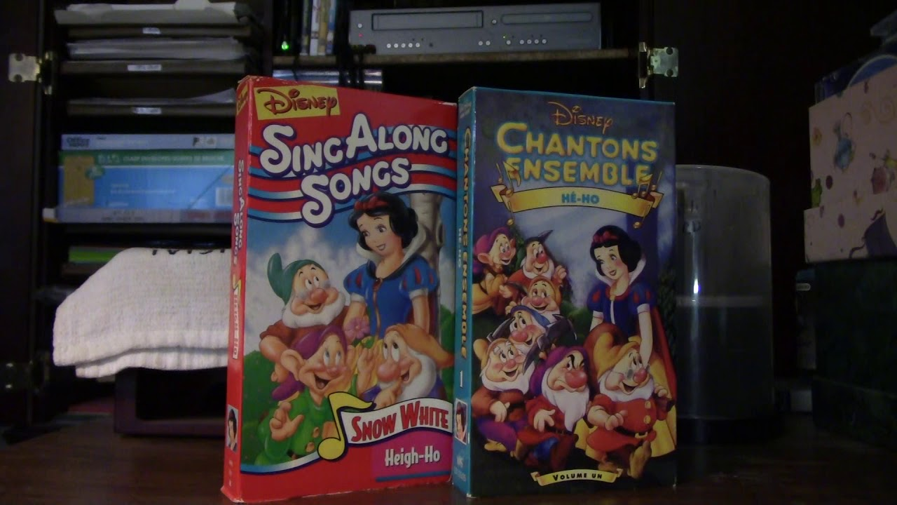 Disney Sing Along Songs Heigh Ho Snow White 1987 Youtube