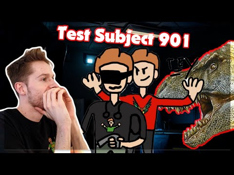 MY BROTHER PRANKS ME WHILE PLAYING VR - Test Subject 901 - VR Horror Gameplay Reaction - #02