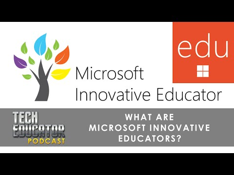 What is the Microsoft Innovative Educator Program? | #MIEExpert