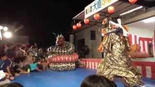 2015-08-22松江-大庭ふるさと納涼祭-大蛇