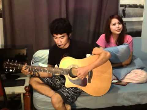 endah n resa - when you love someone cover (acoustic cover)