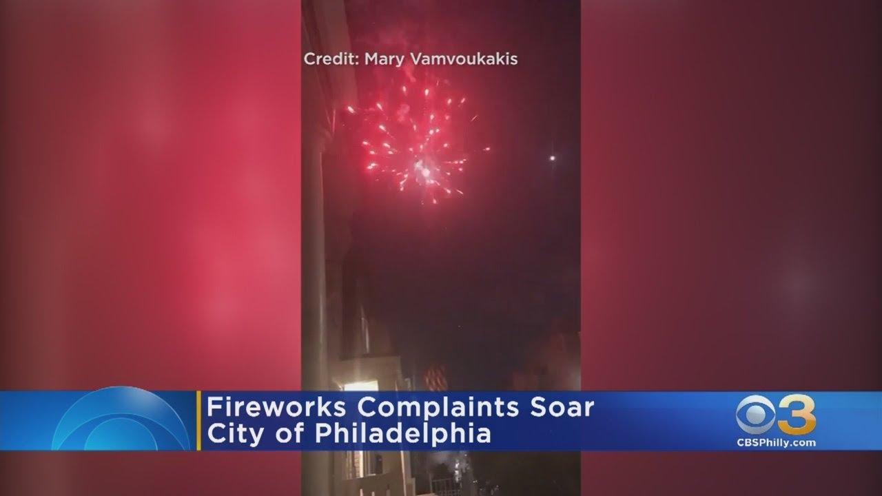 Download Fireworks Complaints Soar Across Philadelphia