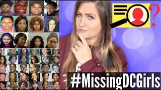 14 BLACK GIRLS GO MISSING IN 24 HOURS? #MissingDCGirls