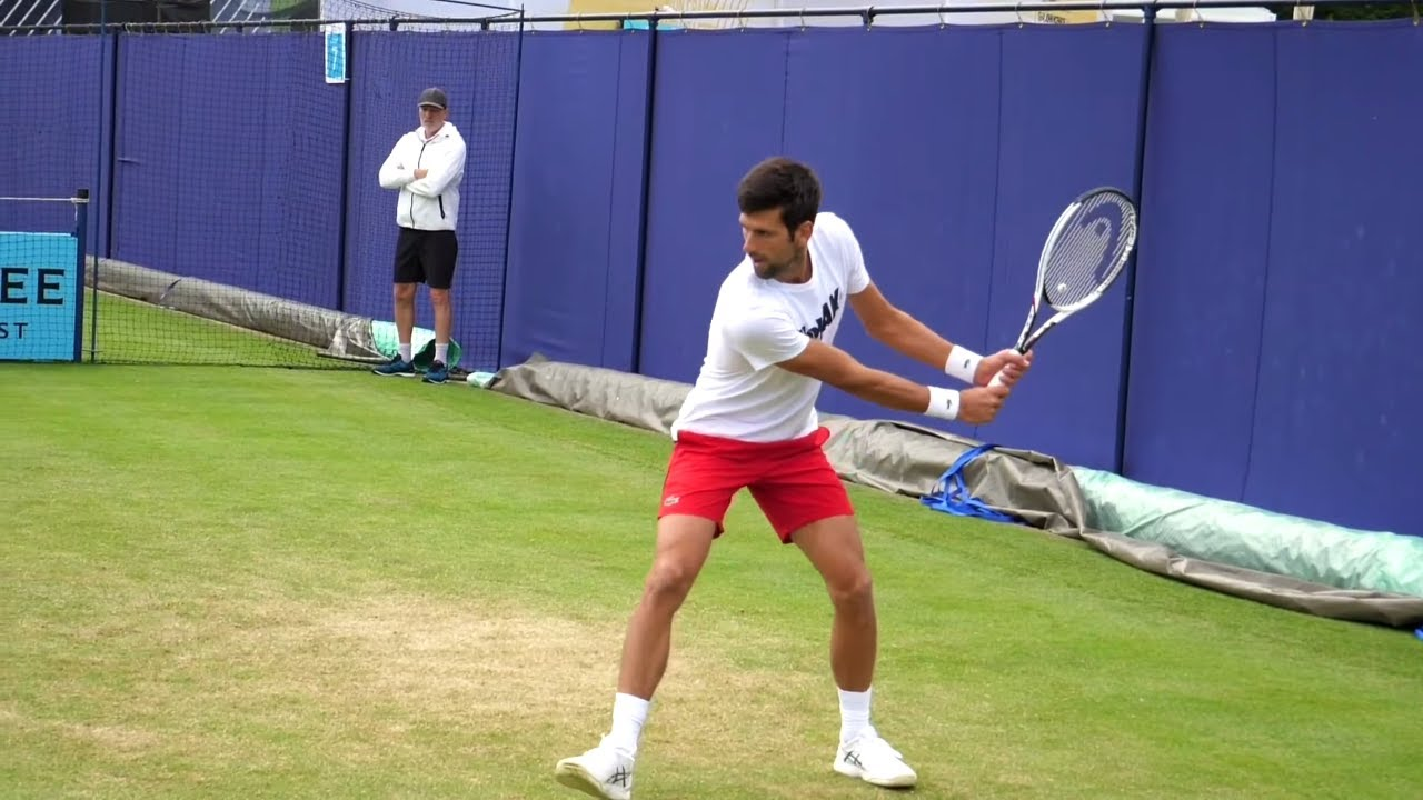 Novak Djokovic Volley Slow Motion Atp Tennis Volley Smash Technique Youtube
