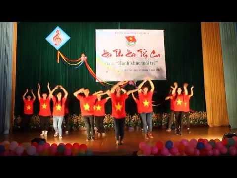 """Flashmob """"Ngày Đẹp Tươi"""" - 11AD2 HVKHQS"""