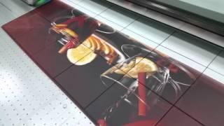 видео Печать на кафельной плитке