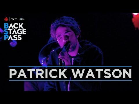 Patrick Watson  CBC Music Backstage Pass