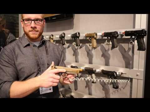 SHOT Show 2017: Elite Force Beretta M9A3 Prototype Hands On