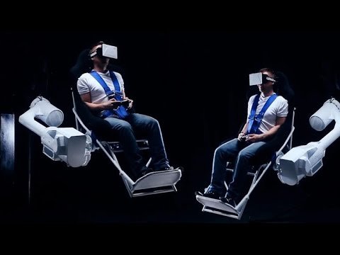 tomorrow daily - this vr chair revolves 360 degrees vertically, ep