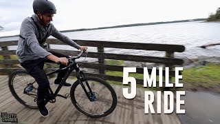 SCOTTY CRANMER AND THE 5 MILE BIKE RIDE CHALLENGE!