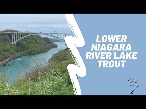 Lower Niagara River Lake Trout | Fishing Artpark & Devil's Hole | Spring 2020