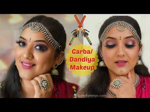 Navratri Makeup | Garba makeup  | Perkymegs