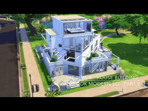 Download video the sims 4 house building terrook for Modern house 6 part 2