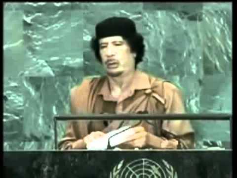 Rede von Muammar Al Gaddafi bei der Generalversammlung der UNO 2009 - Deutsche Synchro