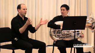 Carnegie Hall Tuba Master Class: Wagner's Ride of the Valkyries