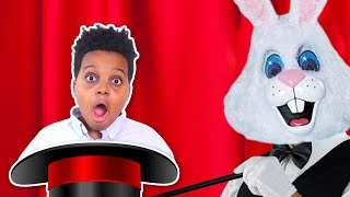EVIL Bunny ATTACKS Bad Baby Shiloh and Shasha - Magic Trick GONE WRONG! - Onyx Kids
