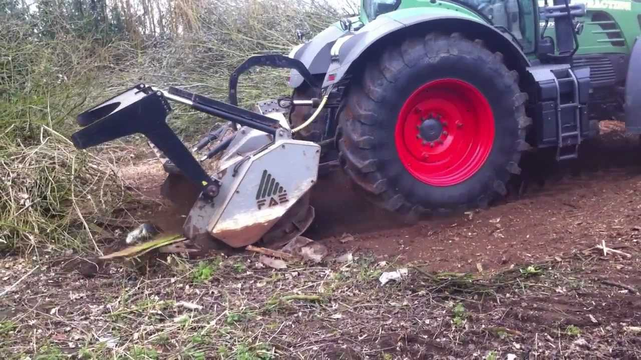 Forestry Site Clearance Brash Removal Mulching Youtube