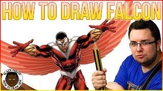 How To Draw Falcon (Captain America)
