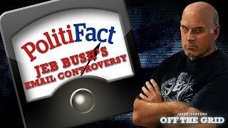 Off The Grid & Politifact: Jeb Bush's Email Controversy | Jesse Ventura Off The Grid - Ora TV