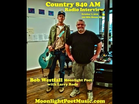 Bob Westfall - Country 840AM Radio Interview