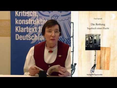 """""""Die Rettung. Tagebuch einer Flucht"""" von Paul Spruth – vorgestellt von Dr. Bärbel Beutner"""