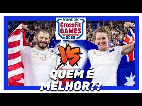 🆕 Quem é melhor: Tia-Clair Toomey vs Mat Fraser crossfit games 2020 🏽👉🏾 ...
