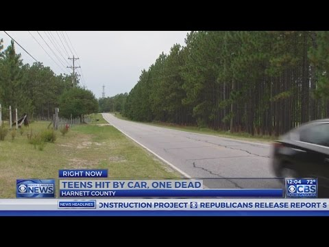 Teens hit in Harnett County