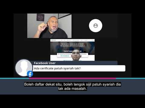 Ada certificate patuh syariah tak?