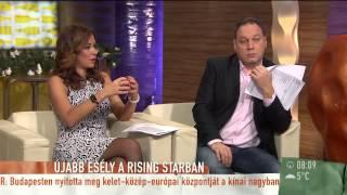 Rising Star: rivalizálnak egymással az énekesek? - 2014.12.19 - tv2.hu/mokka