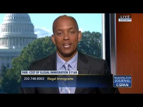 Dan Stein Reveals the Cost of Illegal Immigration on C-SPAN