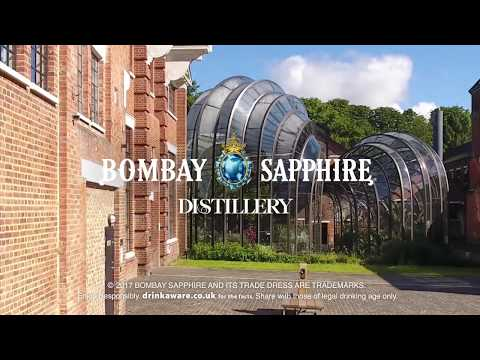Bombay Sapphire Distillery Sustainability Award Win