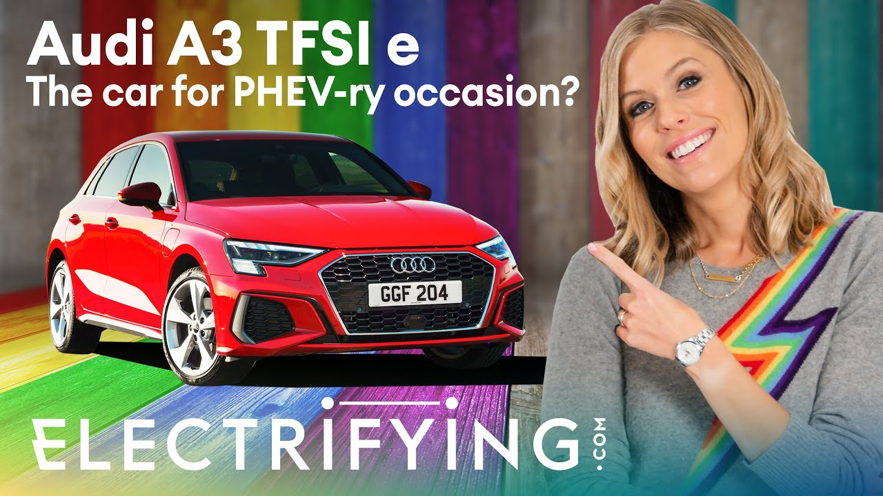 Audi A3 40 TFSI e PHEV hatchback – In-depth 2021 review with Nicki Shields / Electrifying