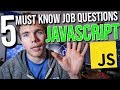 5 Must Know Interview Questions for Java