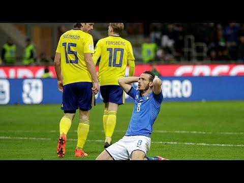 Football pas de coupe du monde 2018 pour l 39 italie youtube - Coupe du monde 2018 football ...
