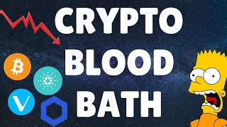 BLOOD BATH IN CRYPTO TODAY | CRYPTO NEWS | ALTCOIN NEWS | BITCOIN NEWS | ETHEREUM NEWS