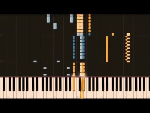 Symphony No. 2 in D major – BEETHOVEN (Arr. LISZT) [Piano Tutorial] (Synthesia)
