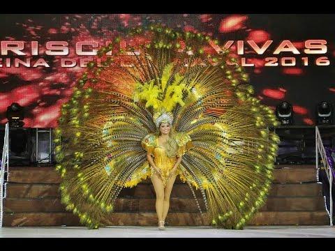"""Priscilla Vivas Reina del Carnaval Cozumel 2016 """"El concierto de mis Sueños"""""""