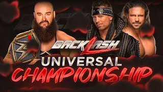 WWE Backlash 2020 - Braun Strowman vs The Miz & John Morrison (WWE Universal Championship)