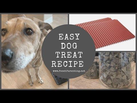 Easy Homemade Dog Treats