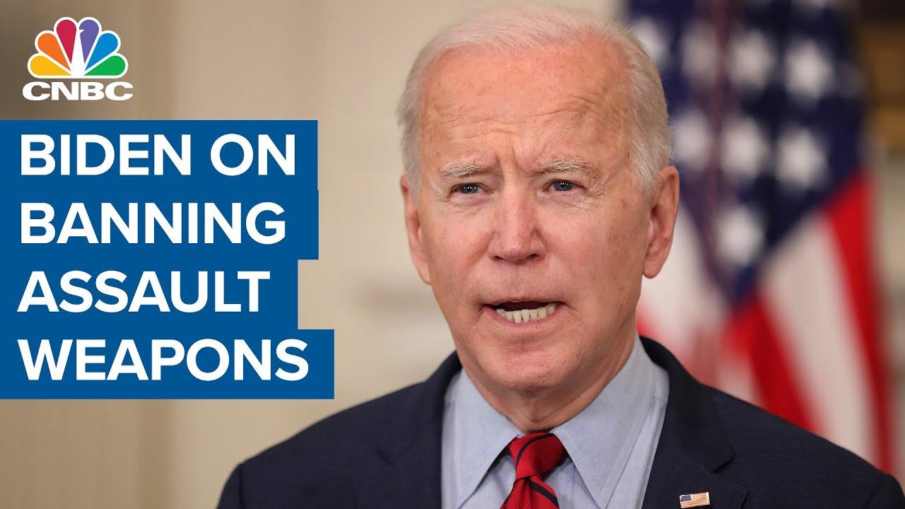 President Joe Biden on Colorado shooting: We can ban ****ault weapons