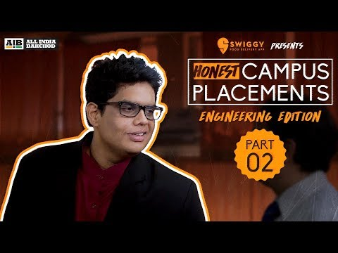 AIB : Honest Engineering Campus Placements | Part 02