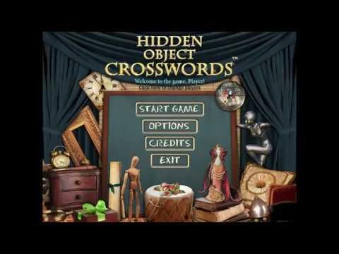 Hidden Object Crosswords Free PC Game