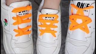 fcd92cd7 как завязать шнурки красиво 2018 ЛАЙФХАКИ для ЛЕТА как красиво зашнуровать  кроссовки