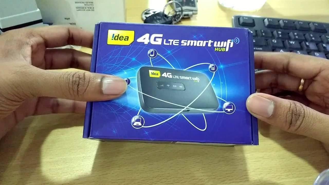 idea 4g smart wifi hub youtube