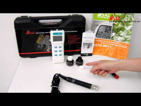 AZ 8401~8403 DO probe maintenance